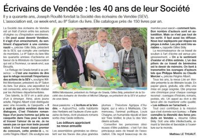article 40 ans SEV